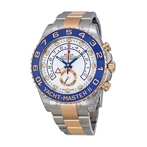 Rolex Yacht Master Uhr Stahl Herren Rose 18kt Gold und II