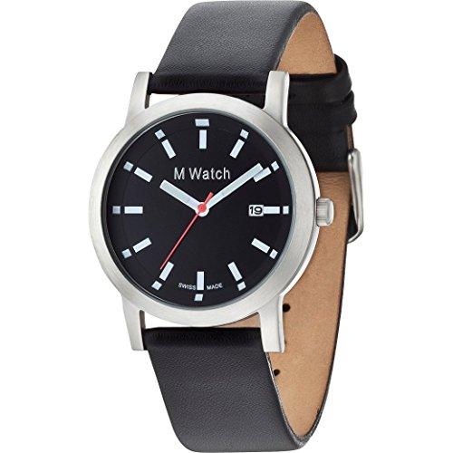 M Watch STEEL schwarz