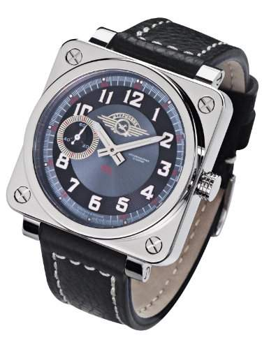Moscow Classic Shturmovik 360203811107 Mechanische Uhr für Ihn Massives Gehäuse