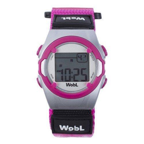 Die WobL Watch die Erinnerungsuhr mit 8 Erinnerungsfunktionen fuer das Toiletten Training fuer Kinder Pink