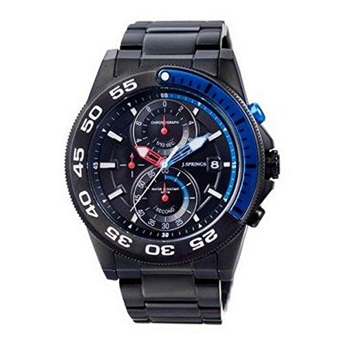 J Springs Sports chronograph Quarz Edelstahl beschichtet BFD066