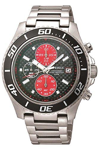 J Springs Sports chronograph Quarz Edelstahl BFD071