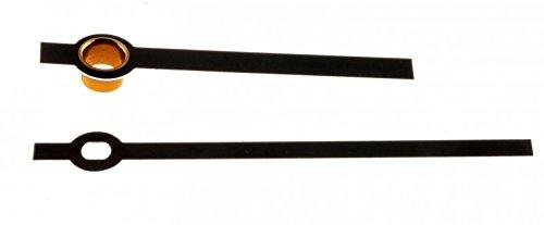Junghans W838 817 Zeiger Balken schwarz R011137 55mm Eurolochung