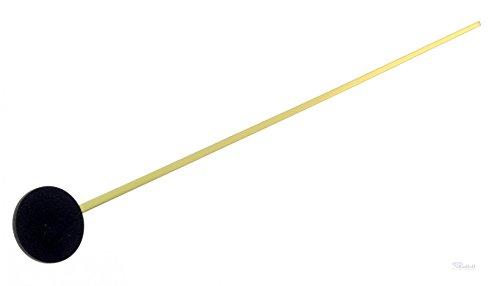 Uhr Sekundenzeiger ALU goldfarbig L 80 mm fuer Quarzwerk 838 Eurolochung