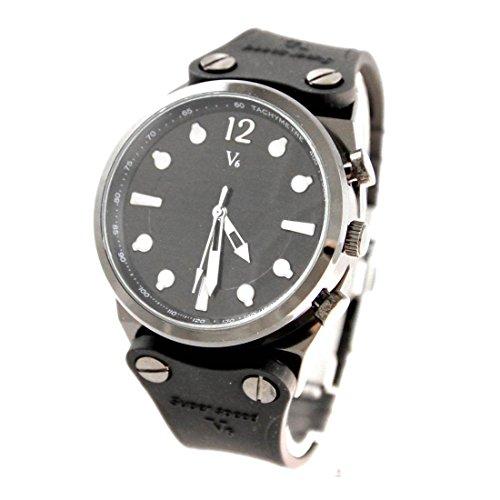 Armbanduhr Silikon Armband Schwarz V6 1313