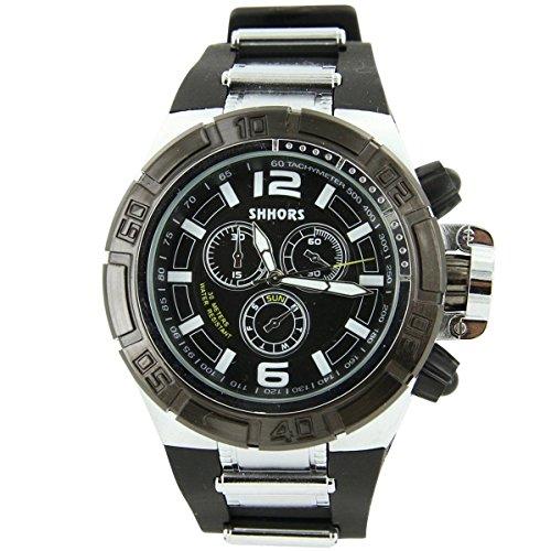 V6 Armbanduhr Armband Silikon Schwarz 271
