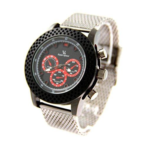 Zeigt Herren Armband Stahl V6 1452