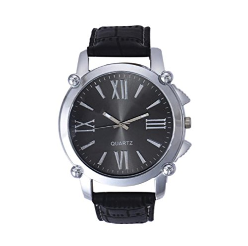 timelyo Abschlussballkleid Quartz Watch Replica Geschenk Geburtstag Schmuckstueck Modus Zifferblatt schwarz