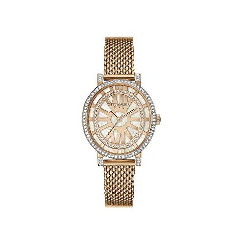Wittnauer Damen Charlotte Oval Kristall Armbanduhr wn4039