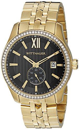 Wittnauer wn3032 22 mm Edelstahl Gold