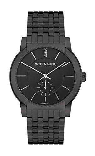 Wittnauer Herren wn3043 22 mm Edelstahl Black Watch Armband