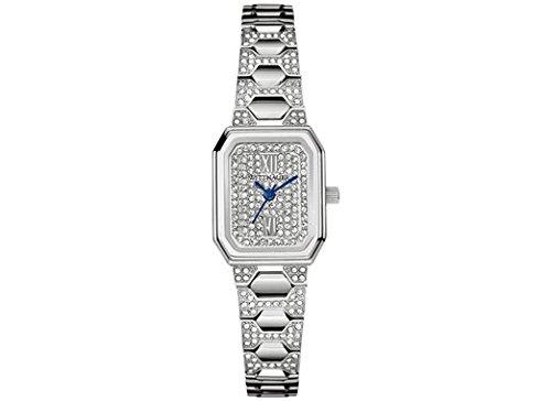 Wittnauer Damen Madeline Mini Kristall Accent Edelstahl Armband Uhr 19 x 14 mm