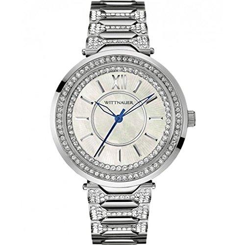 Wittnauer Herren Taylor Kristall Accent Edelstahl Armband Armbanduhr