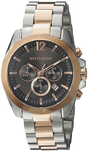 Wittnauer Herren wn3023 22 mm Edelstahl Zwei Ton Armbanduhr Armband
