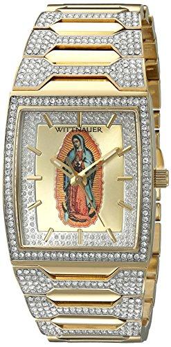 Wittnauer Herren wn3039 30 mm Edelstahl Zwei Ton Armbanduhr Armband