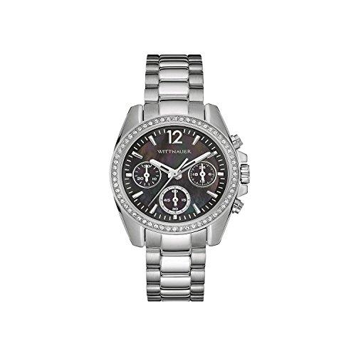 Wittnauer wn4040 Edelstahl Armband Uhr