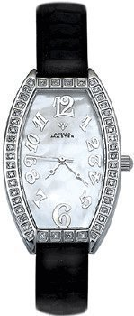 Aqua Master LadiesOval Uhr 0 8 Karat Diamant