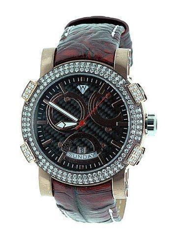 Aqua Master Titan Automatische 3 50 CT Diamant Herren Armbanduhr w312 a3