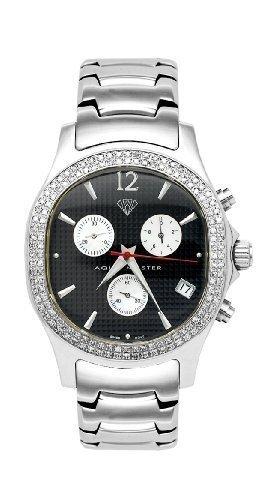 NEU Aqua Master Herren Armbanduhr Oval Diamant 1 50 ctw