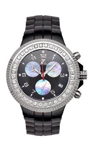 NEU Aqua Master Herren Armbanduhr Keramik Diamant 2 85 ctw