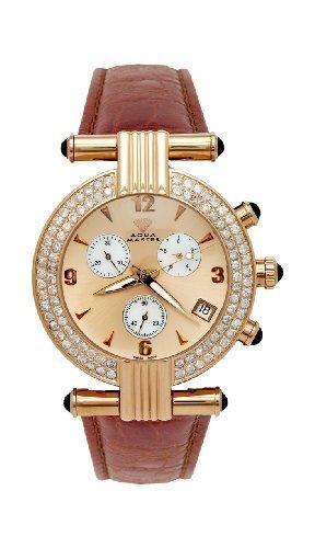 NEU Aqua Master Herren Armbanduhr zweireihige Big Diamant 3 25 ctw