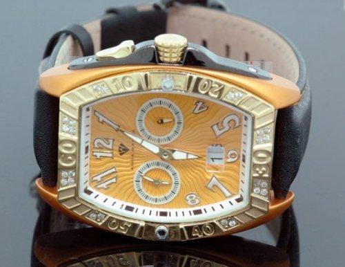 Aqua Master Tonneau 0 50 ctw Herren Diamant Armbanduhr W315 3