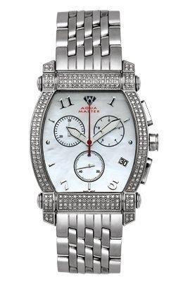 Aqua Master Unisex Voll Case Huelle Diamant Armbanduhr 2 50 ctw