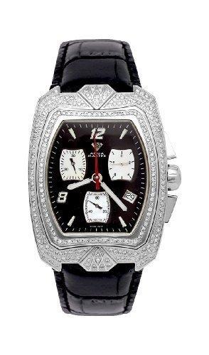 NEU Aqua Master Herren Diamant Uhr 2 50 ctw