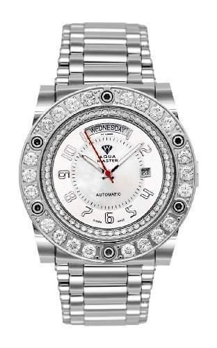AQUA MASTER Herren-Armbanduhr Automatik W#119 1-7