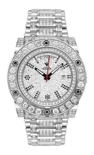 AQUA MASTER Herren-Armbanduhr Automatik W#119D-1 1-4