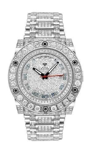 AQUA MASTER Herren-Armbanduhr Automatik W#119D-2 1-2
