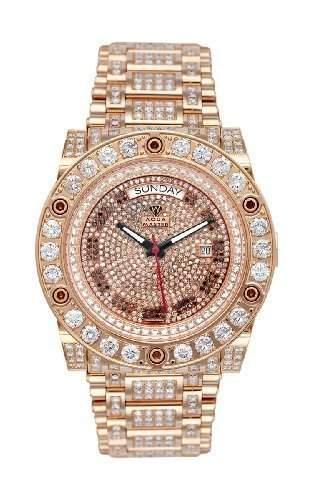 AQUA MASTER Herren-Armbanduhr Automatik W#119D-2 1-3