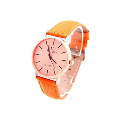 Zeigt Damen Armband Leder braun orange SANEESI 1088