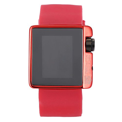 Leopard Shop TVG 4 G08 weiblich Armbanduhr Mode LED Digital Multifunktional Sport Armbanduhr Kalender Wasser Widerstand rot