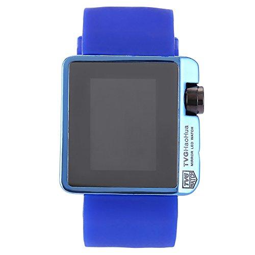 Leopard Shop TVG 4 G08 weiblich Armbanduhr Mode LED Digital Multifunktional Sport Armbanduhr Kalender Wasser Widerstand blau