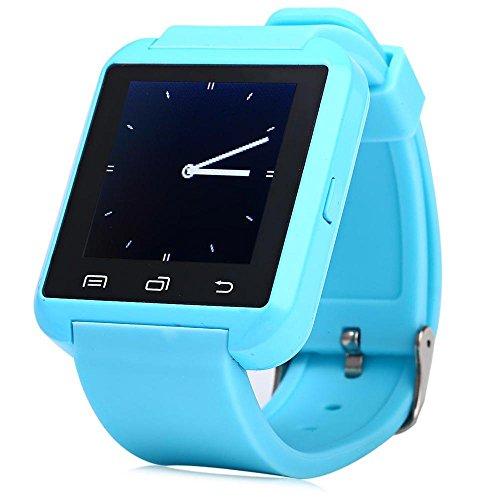 Leopard Shop U8S Outdoor Sport Smart Watch Bluetooth 3 0 Fernbedienung Kamera Blau