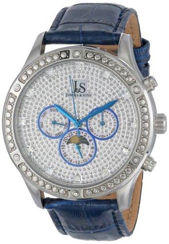 Joshua Sons Herren Sparkling Mechanische Multifunktions Armbanduhr