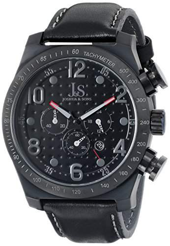 Joshua & Sons Herren Analog-Anzeige Quarz Black Watch