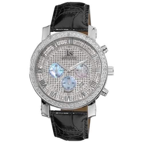 Joshua & Sons Herren-Armbanduhr Analog Quarz JS-28-01