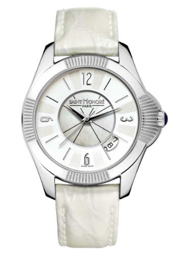 Saint Honore 766060 Edelstahl Grau Damen Armbanduhr