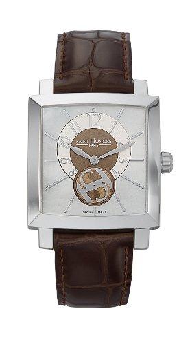 Saint Honore Orsay Damen 32mm Braun Leder Armband Mineral Glas Uhr 863017 1YBIN