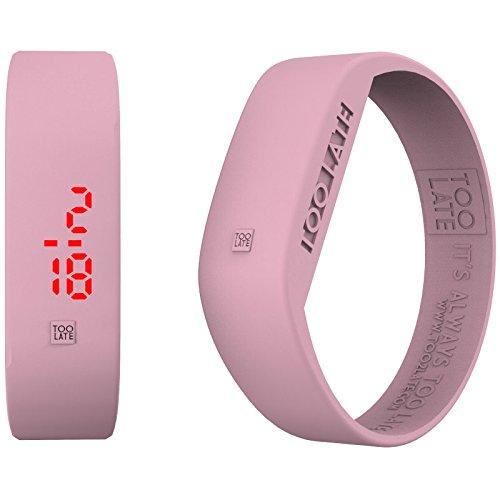 Armbanduhr Digital Unisex Too Late LED Aurora Casual Cod 8052145225055