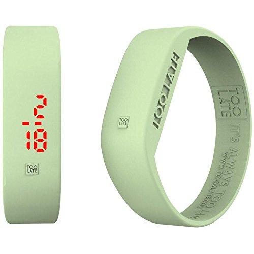 Armbanduhr Digital Unisex Too Late LED Aurora Casual Cod 8052145225062