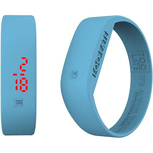 Armbanduhr Digital Unisex Too Late LED Aurora Casual Cod 8052145225079
