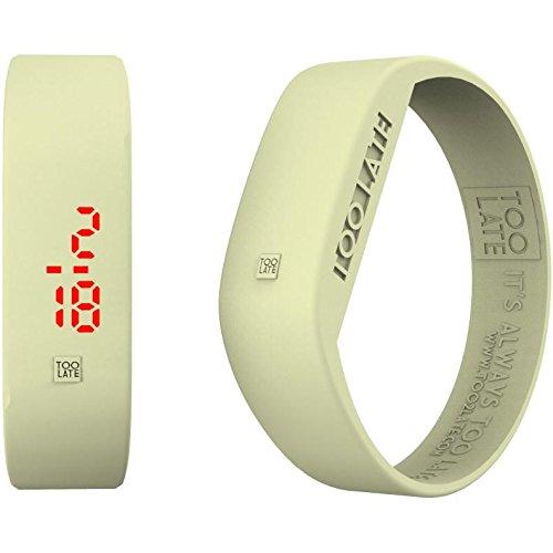 Armbanduhr Digital Unisex Too Late LED Aurora Casual Cod 8052145225130