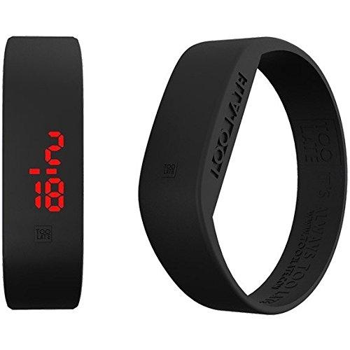 Armbanduhr Digital Unisex Too Late Groesse M Trendy Cod 8052145223235