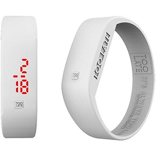 Armbanduhr Digital Unisex Too Late Groesse M Trendy Cod 8052145223242