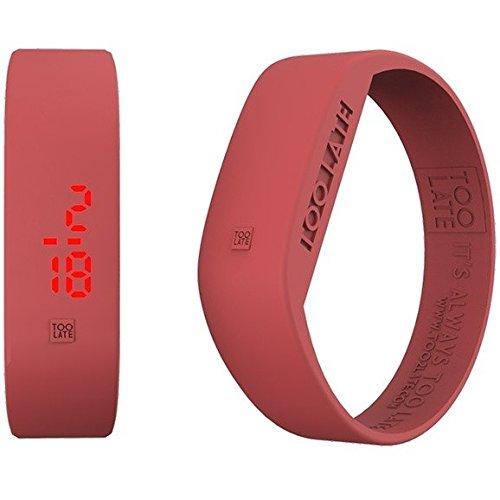 Armbanduhr Digital Unisex Too Late Groesse M Trendy Cod 8052145223259