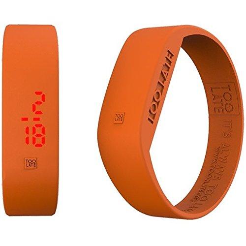 Armbanduhr Digital Unisex Too Late Groesse M Trendy Cod 8052145223273