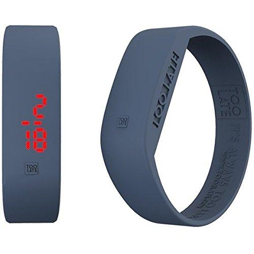 Armbanduhr Digital Unisex Too Late Groesse M Trendy Cod 8052145223303